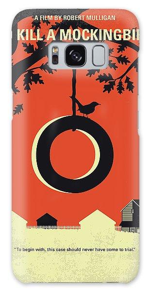 No844 My To Kill A Mockingbird Minimal Movie Poster Galaxy Case