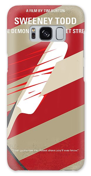 No849 My Sweeney Todd Minimal Movie Poster Galaxy S8 Case