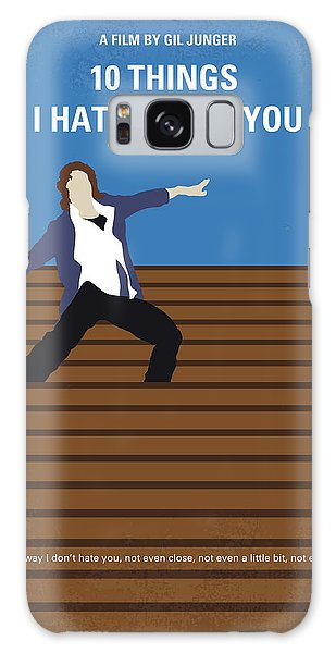 No850 My 10 Things I Hate About You Minimal Movie Poster Galaxy Case