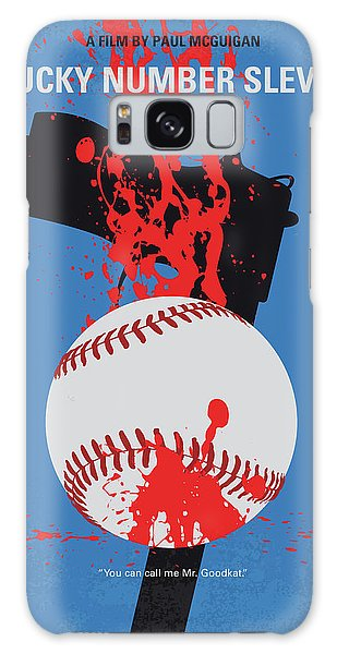 Fairy Galaxy S8 Case - No880 My Lucky Number Slevin Minimal Movie Poster by Chungkong Art
