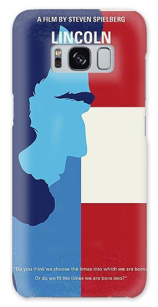 Us Civil War Galaxy Case - No895 My Lincoln Minimal Movie Poster by Chungkong Art