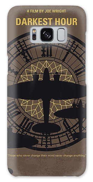 Westminster Abbey Galaxy Case - No901 My Darkest Hour Minimal Movie Poster by Chungkong Art