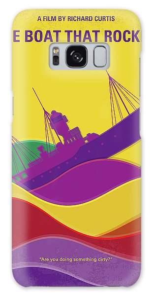 Classic Rock Galaxy Case - No961 My The Boat That Rocked Minimal Movie Poster by Chungkong Art
