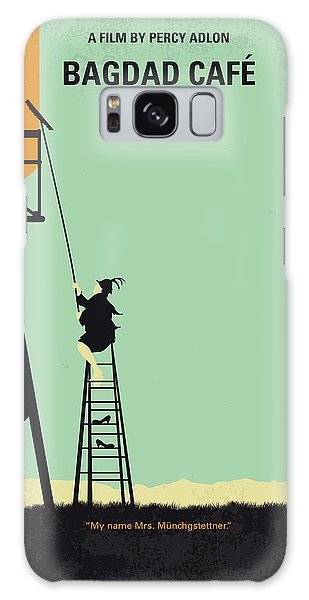 Magician Galaxy S8 Case - No964 My Bagdad Cafe Minimal Movie Poster by Chungkong Art