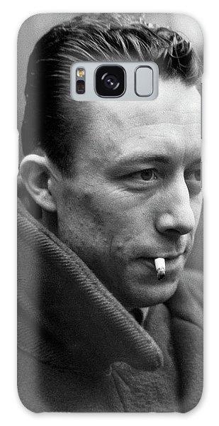 Nobel Prize Winning Writer Albert Camus Unknown Date #1 -2015 Galaxy Case by David Lee Guss