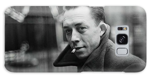 Nobel Prize Winning Writer Albert Camus Paris 1944 - 2015           Galaxy Case
