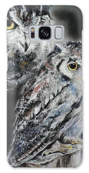 Noble Owl Guardian Of The Afterlife Galaxy Case