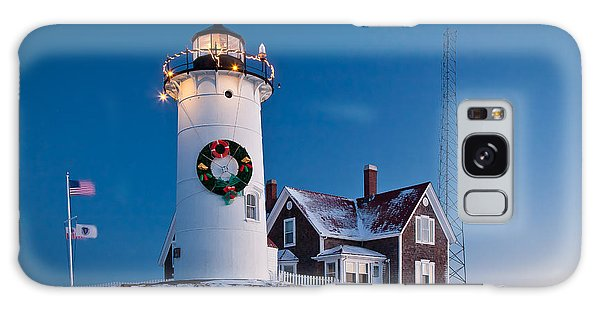 Galaxy Case featuring the photograph Nobska Light by Susan Cole Kelly