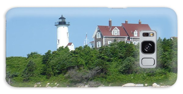 Nobska Point Lighthouse Galaxy Case by Donna Walsh
