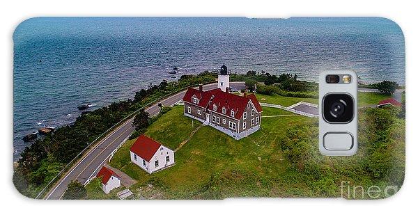 Nobska Point Lighthouse Galaxy Case