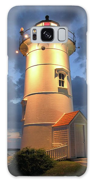 Nobska Point Lighthouse Galaxy Case by Roupen  Baker