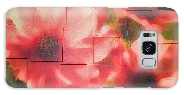 Nocturnal Pinks Photo Sculpture Galaxy Case