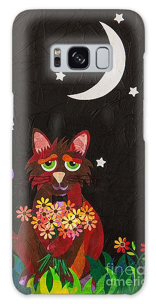 Nocturnal Romantic Galaxy Case by Diane Miller