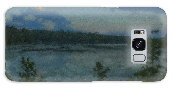 Nocturne At Ames Long Pond Galaxy Case