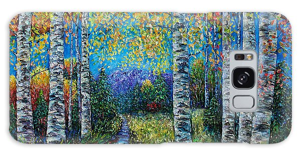 Nocturne Blue - Palette Knife Galaxy Case