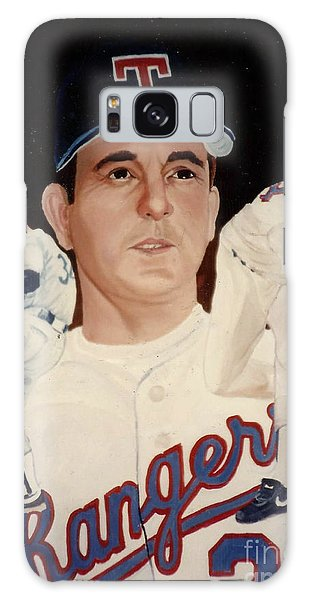Galaxy Case featuring the painting Nolan Ryan Medley by Rosario Piazza