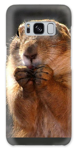 Snacking Prairie Dog Galaxy Case