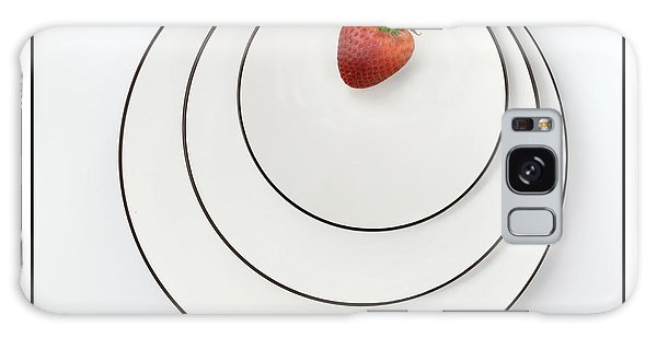 Nonconcentric Strawberry No. 2 Galaxy Case by Joe Bonita