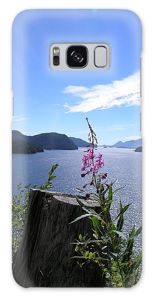 Flowers Of Nootka Sound Galaxy Case