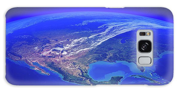 Earth From Space Galaxy Case - North America Seen From Space by Johan Swanepoel