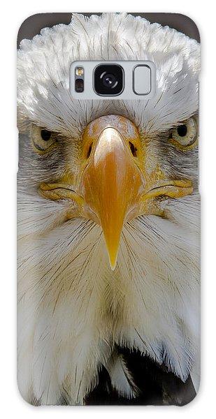 North American Bald Eagle  Galaxy Case