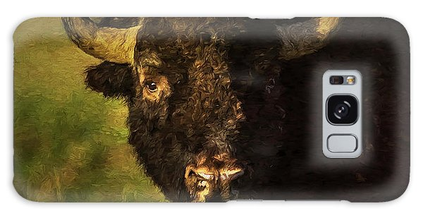 Galaxy Case featuring the photograph North American Buffalo by Lou Novick