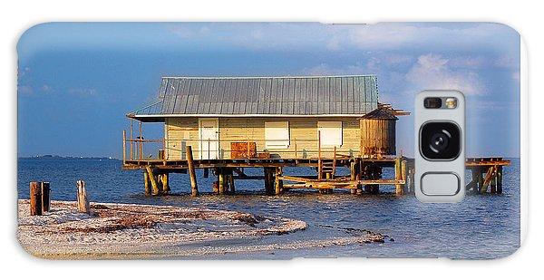 North Captiva Island Last Stilt House Standing Galaxy Case