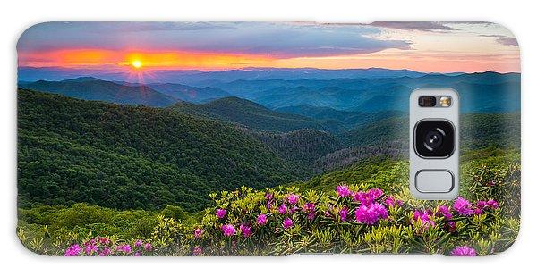 North Carolina Blue Ridge Parkway Landscape Craggy Gardens Nc Galaxy Case