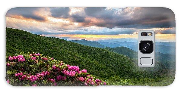 North Carolina Blue Ridge Parkway Scenic Landscape Asheville Nc Galaxy Case