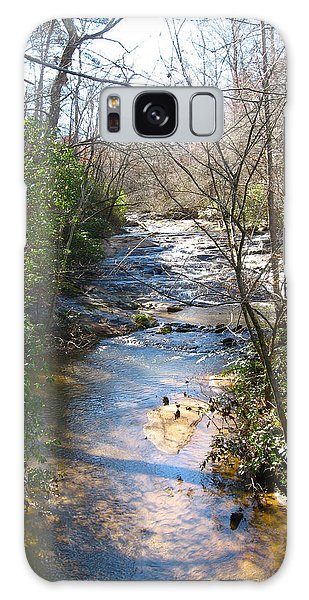 North Carolina Mountain Stream Galaxy Case
