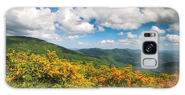 North Carolina Roan Mountain Flame Azalea Flowers Appalachian Trail Galaxy Case