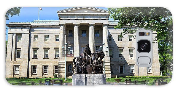 North Carolina State Capitol Building With Statue Galaxy Case