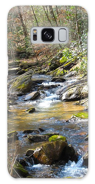 North Carolina Stream Galaxy Case by Deborah Dendler
