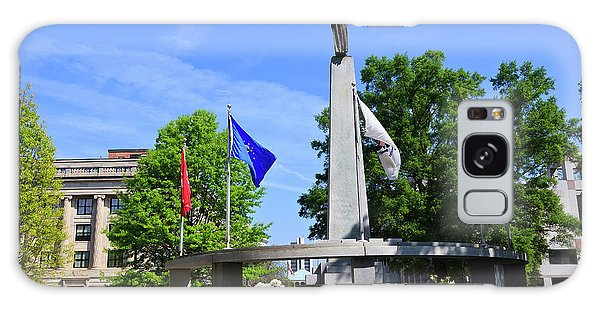 North Carolina Veterans Monument Galaxy Case
