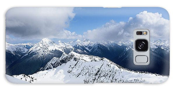 North Cascade Mountains Galaxy Case