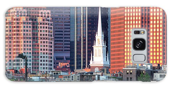 North Church Steeple Galaxy Case