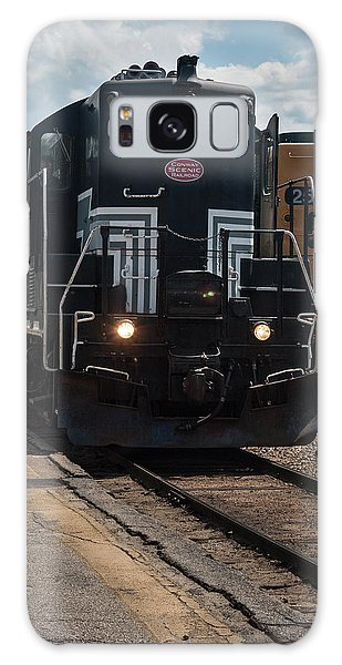 Conway Scenic Railroad - New Hampshire Galaxy Case by Suzanne Gaff