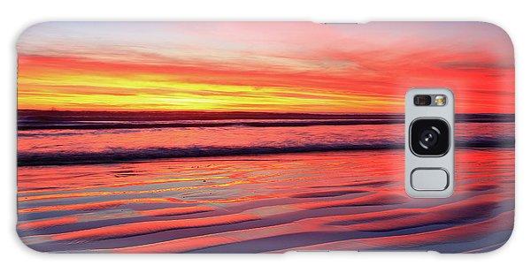 Oceanside Sand Ripples Galaxy Case