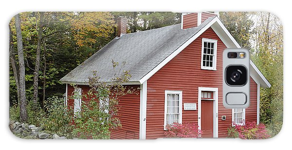 North District School House - Dorchester New Hampshire Galaxy Case