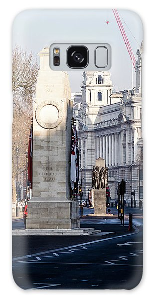 North Facade Of Cenotaph War Memorial Whitehall London Galaxy Case