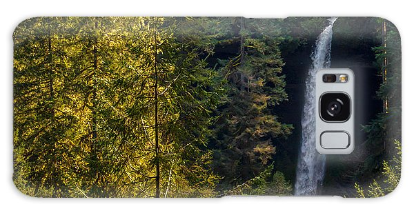North Falls View Galaxy Case by Jerry Cahill