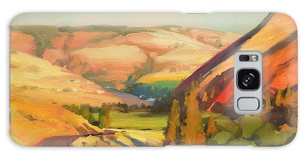 Rural Galaxy S8 Case - North Fork Touchet by Steve Henderson