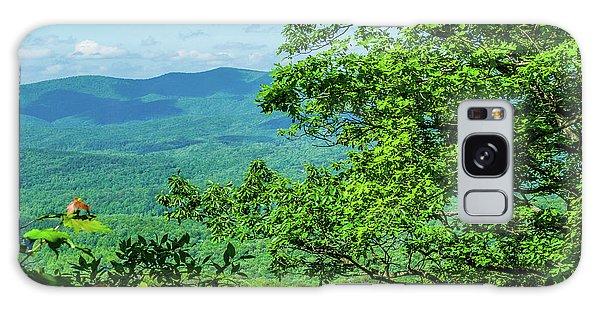 North Georgia Mountains Galaxy Case