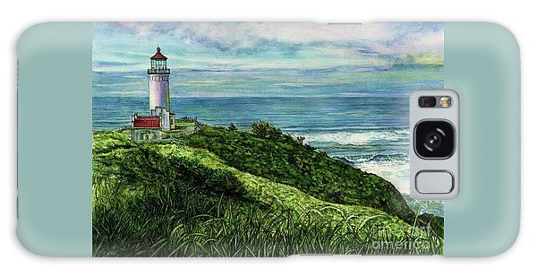 North Head Lighthouse And Beyond Galaxy Case