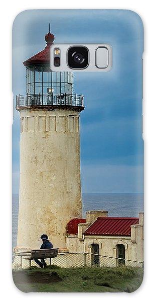 North Head Lighthouse Galaxy Case by E Faithe Lester