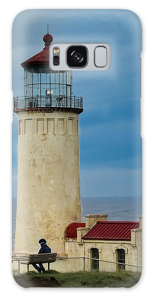 North Head Lighthouse Galaxy Case by E Faithe Lester