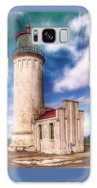 North Head Lighthouse - Washington Coast Galaxy Case by Greg Sigrist