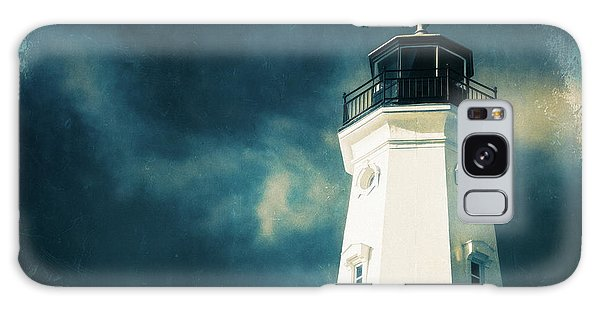 North Point Lighthouse Galaxy Case