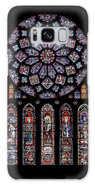 North Rose Window Of Chartres Cathedral Galaxy Case