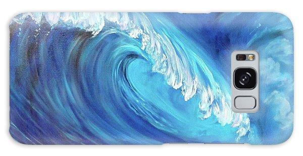 North Shore Wave Oahu 2 Galaxy Case